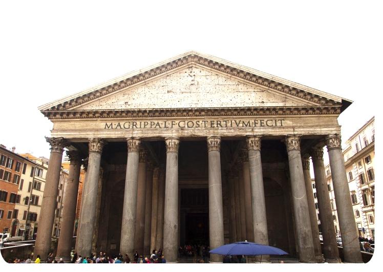 blotowlosa rzym panteon