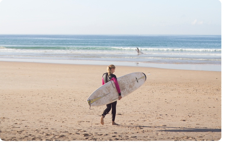 peniche surf beach