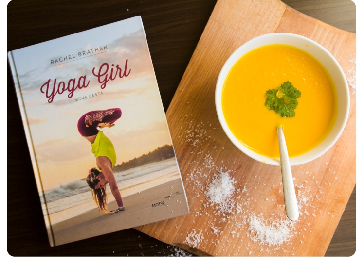 yoga girl ginger soup
